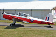 G-HAPY @ EGTB - 1952 De Havilland DHC-1 CHIPMUNK 22, c/n: C1/0697 based at Booker