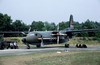C-5 @ EHDL - In 1988 the Dutch Air Forces celebrated its 75th anniversary at Deelen AB. For 5 days the base was open for the public. The crew of the F-27 display is resting after yet another performance. - by Joop de Groot