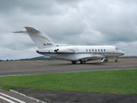 M-PAUL @ EGFH - Smart Hawker 4000 Horizon bizjet at Swansea Airport. Re-registered G-PROO on 17 November 2010. - by Roger Winser