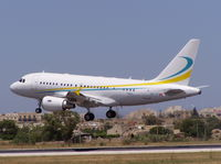 HB-IPP @ LMML - A318 HB-IPP of Comlux Aviation.