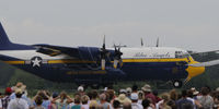 164763 @ KSTC - Fat Albert at the Great Minnesota Air Show - by Todd Royer