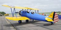 N49739 @ KSTC - on Display at the 2010 Great Minnesota Air Show - by Todd Royer