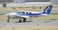 N875AN @ KBFL - learning to fly at Bakersfield