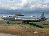 51-9235 @ KCFE - T-33 on display at the Buffalo Municipal Airport. - by Kreg Anderson