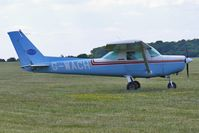 G-WACH @ EGTB - Based 1986 Reims Aviation Sa CESSNA FA152, c/n: 0425 at Booker