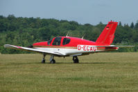 D-ECAG @ EGTB - German Socata at AeroExpo 2010 - by Terry Fletcher