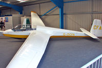 G-DCFA @ EGTB - Glider based at Booker