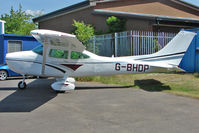 G-BHDP @ EGTB - 1980 Reims Aviation Sa REIMS CESSNA F182Q, c/n: 0131 at Booker