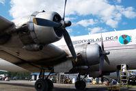 N3054V @ FAI - Brooks Air DC4