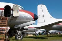 N99330 @ FAI - ex Northern Air Cargo DC6 - by Dietmar Schreiber - VAP