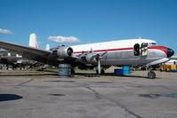 N1027N @ FAI - ex Northern Air Cargo DC6