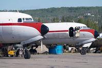 N7919C @ FAI - ex Northern Air Cargo DC6