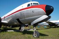 N1377K @ FAI - ex Northern Air Cargo DC6 - by Dietmar Schreiber - VAP