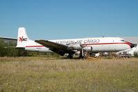 N434TA @ FAI - Northern Air Cargo DC6