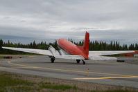 N28TN @ ENA - Trans Northern DC3 (C117)