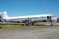 N3050P @ FAI - ex Conifair Aviation DC6