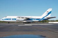 RA-82047 @ FAI - Volga Dnepr Antonov 124