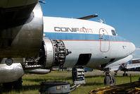 N3047V @ FAI - ex Conifair Aviation DC6