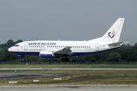 VP-BPE @ EDDL - yet another Bermuda registered Russian airliner - by Joop de Groot