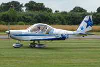 G-JUGE @ EGBM - 2003 Cosmik Aviation Ltd EV-97 TEAMEUROSTAR UK, c/n: 1709 at Tatenhill Fly-In