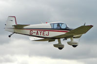 G-AYEJ @ EGBM - 1961 Societe Aeronautique Normande JODEL DR1050, c/n: 253 at Tatenhill Fly-In
