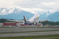 N492MC @ ANC - Atlas Air Boeing 747-400