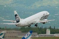 N796AS @ ANC - Alaska Airlines Boeing 737-400