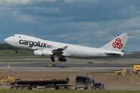LX-YCV @ ANC - Cargolux Boeing 747-400