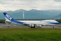 JA07KZ @ ANC - Nippon Cargo Boeing 747-400