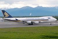 9V-SFG @ ANC - Singapore Airlines Boeing 747-400