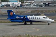 N543LM @ ANC - Life Med Alaska Learjet 35
