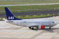 LN-RPT @ EDDL - SAS, Boeing 737-683, CN: 28299/193, Aircraft Name: Ellida Viking - by Air-Micha
