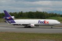 N579FE @ ANC - Fedex MD11