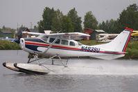 N4839U @ LHD - Cessna 206
