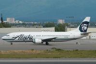 N754AS @ ANC - Alaska Airlines Boeing 737-400