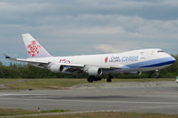 B-18725 @ ANC - China Airlines Boeing 747-400