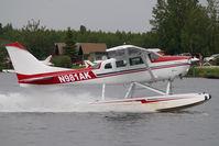 N981AK @ LHD - Cessna 206