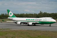 B-16481 @ ANC - Eva Air Boeing 747-400