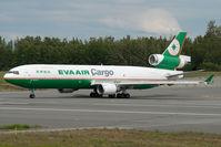 B-16113 @ ANC - Eva Air MD11