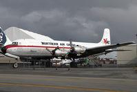 N43872 @ LHD - Northern Air Cargo DC6