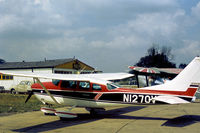N1270V @ BQH - Cessna U.206F Stationair seen at Biggin Hill in the Summer of 1976 shortly after delivery from the United States. - by Peter Nicholson