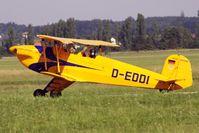 D-EDDI @ LOLW - 100 years Airfield Wels- CASA 1-131E Jungmannc/n2172 - by Delta Kilo