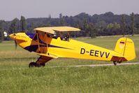 D-EEVV @ LOLW - 100 years Airfield Wels-CASA 1-131E Jungmann - by Delta Kilo
