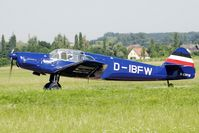 D-IBFW @ LOLW - 100 years Airfield Wels-Messerschmitt BF108 Taifun - by Delta Kilo