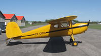 CF-QWR @ CYRP - 1947 C-140 complete rebuild cost $50,000 - by GARRY FANCY