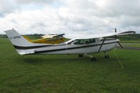 C-GPSC @ Y50 - Cessna TR182 Skylane in the grass. - by Kreg Anderson