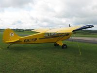 N97HP @ Y50 - Aviat A-1B Husky in the grass. - by Kreg Anderson