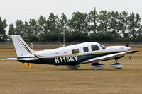 N116KY @ EGHR - Parked at Goodwood - by John Richardson