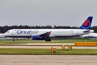 TC-OAN @ EGCC - Onur Air Airbus A321-231, c/n: 1421 at Manchester UK