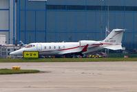 VP-BGS @ EGCC - BOMBARDIER LEARJET 60 arriving at Manchester UK